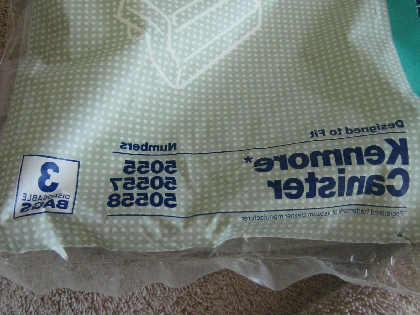Sears Canister Vacuum Bags and of 3