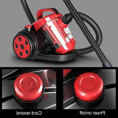 Vacuum Cleaner Bagless Cord Carpet Floor w