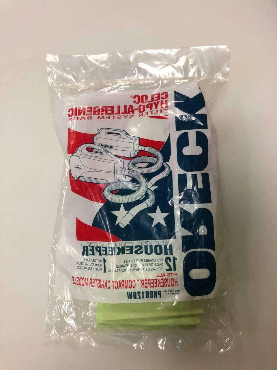 xl buster b canister vacuum bags pkbb12dw
