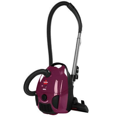 zing bagged canister vacuum 4122