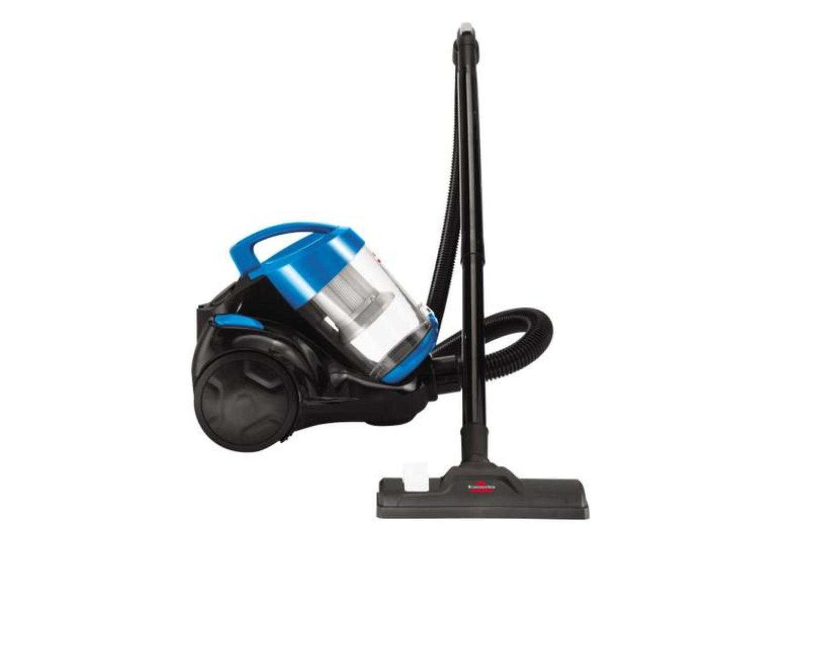 zing bagless canister vacuum cleaner 2156 new