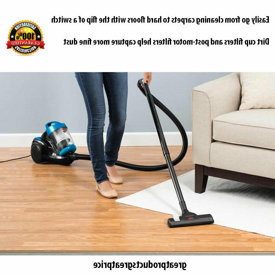 BISSELL Zing Vacuum Cleaner Hard Carpet Suction