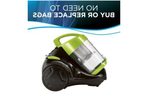 Bissell Zing Canister, Vacuum, Green Bagless NOW