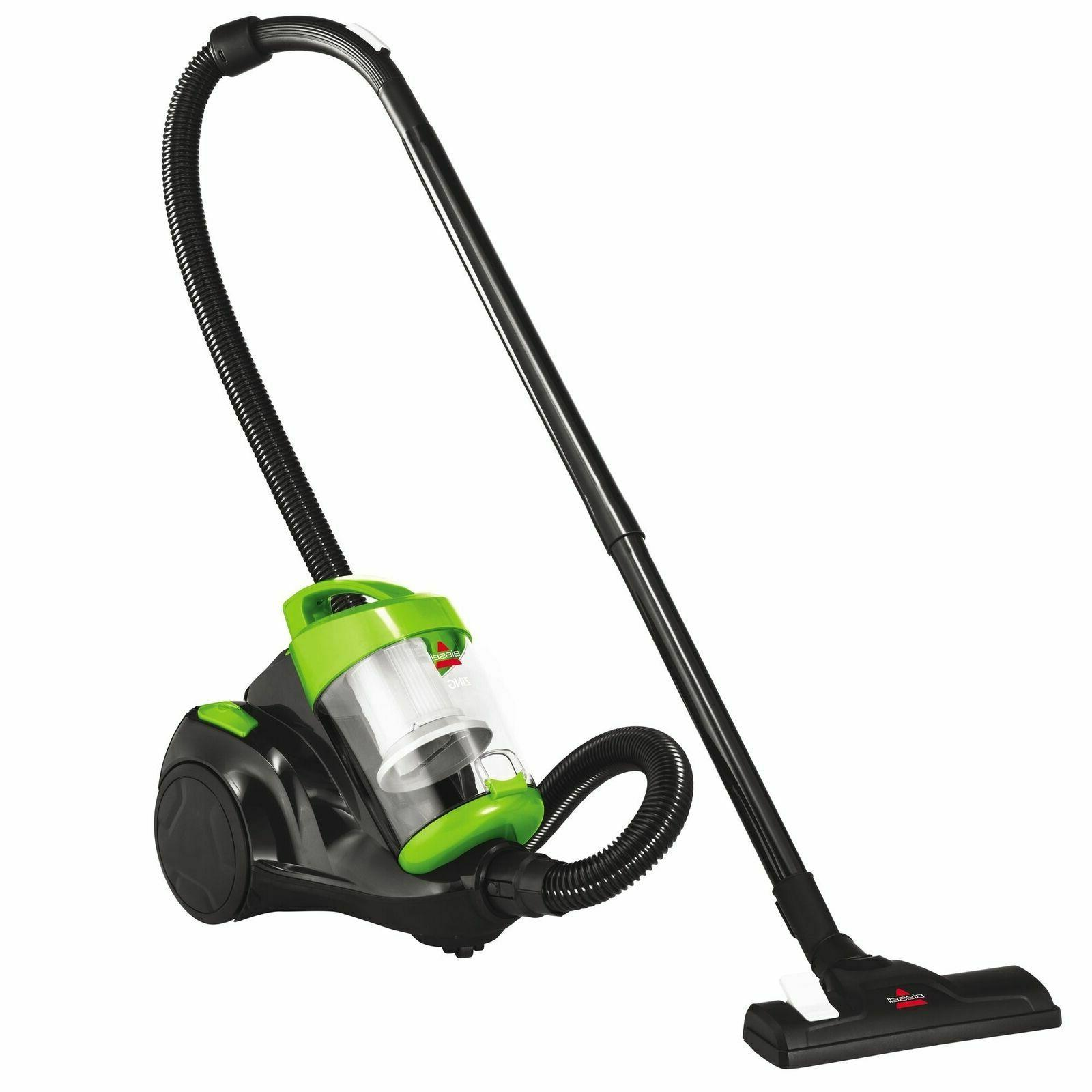 2156a zing bagless canister vacuum green bagless