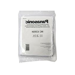 Pack of 2 Panasonic MC-V295H Type C-19 Canister HEPA Vacuum Bag