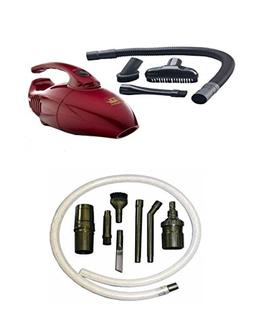 Fuller Mini Maid Handheld Vacuum and 7 Extra Attachment Pc S