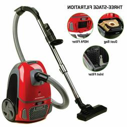 NEW - Ovente Canister Vacuum with Tri-Level Filtration ST160