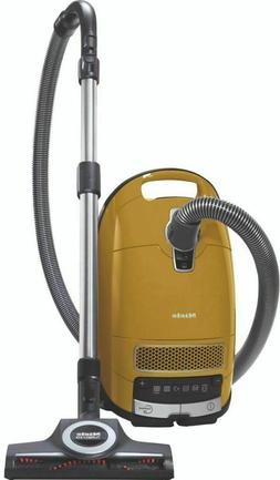 New Miele Complete C3 Calima Canister Vacuum - Curry Yellow