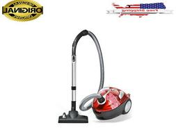 NEW Dirt Devil Tattoo Crimson Bouquet Bagged Canister Vacuum