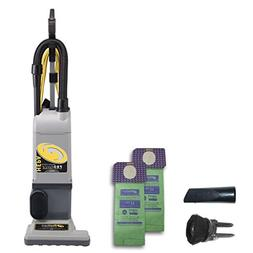 ProTeam ProForce 1200XP HEPA Bagged Upright Vacuum Cleaner,