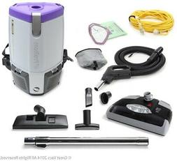ProTeam ProVac Super Coach Pro 6 QT Vacuum Cleaner with Powe