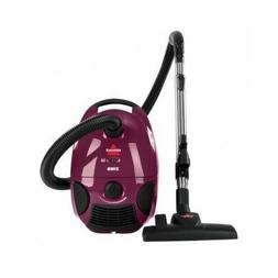 Purple Canister Vacuum Cleaner Compact Cord Bag Home Floor C