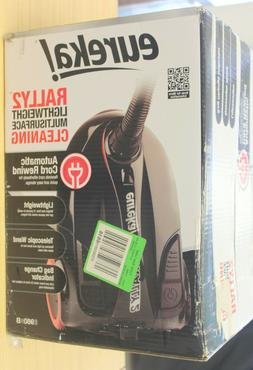 Eureka Rally 2 Canister Vacuum With Automatic Cord Rewind 98
