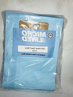 Riccar Type F Upright Microlined Vacuum Bags for Supralite,