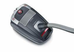 Severin S'Power Zelos Bagged Canister Vacuum Cleaner, Midnig