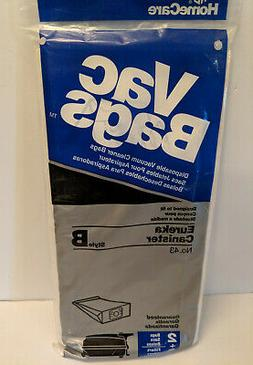Home Care Style B Vacuum Bags for Eureka Canister