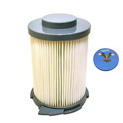 HQRP Washable Primary HEPA Filter for Hoover S3755 / S3765 W